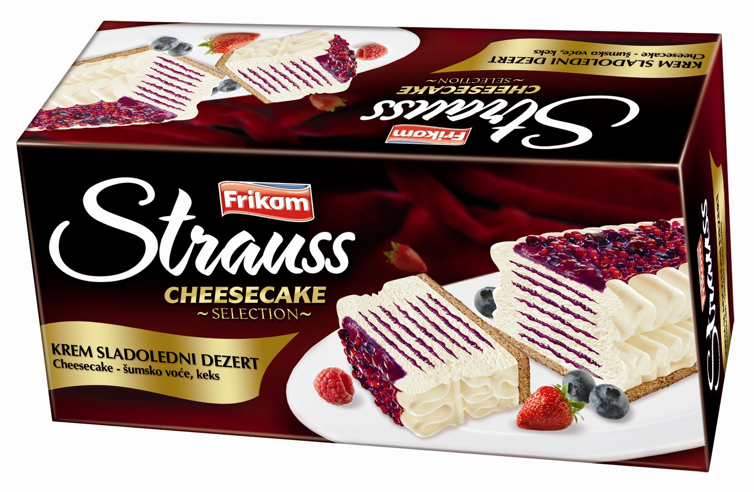 strauss cheesecake cream ice cream desert product description strauss